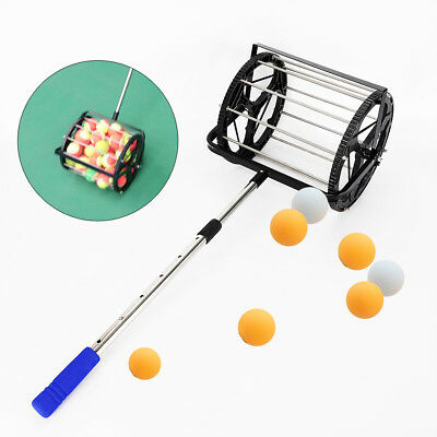 Tennis Ball Picker Hopper Retriever Mower Collector Pick Up Durable Portable USA