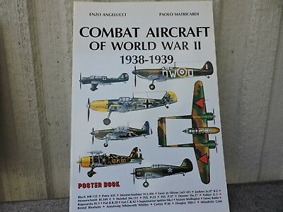 Military Press Poster Book Combat Aircraft Of Ww2 Collection 1938-1939