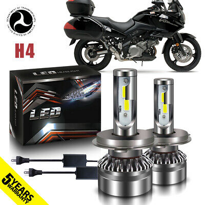 H4 9003 HB2 LED Headlight Bulb Conversion Kit Xenon HID Low Beam 6000K 12000LM
