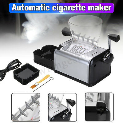 7-8mm DIY Tobacco Automatic Electric Cigarette Rolling Machine Maker Inject Tube