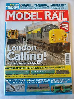 Model Rail - August 2012 - Realistic steam era track