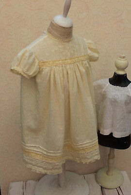 antikes? Puppen-KLEID _ Spitze _ Jugendstil-Art Deco _ big BOUDOIR Doll Dress