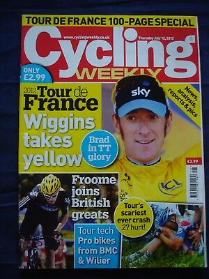 Cycling Weekly  - 12 July 2012 - Tour de France