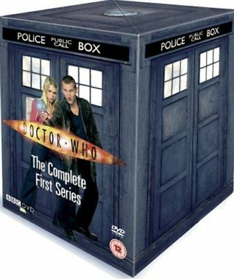Doctor Who - Series 1 Complete 1st First Season One 2005  UK  DVD TARDIS BOX ED.