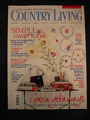 Country Living Magazine - March 2010 - Simple country style