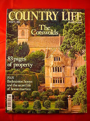 Country Life - May 7, 2014 - The Cotswolds - House martins