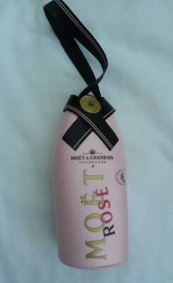Moet & Chandon Champagne Pink Rose Insulated Bottle Cover
