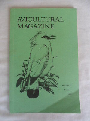 Avicultural Magazine - January / March 1981