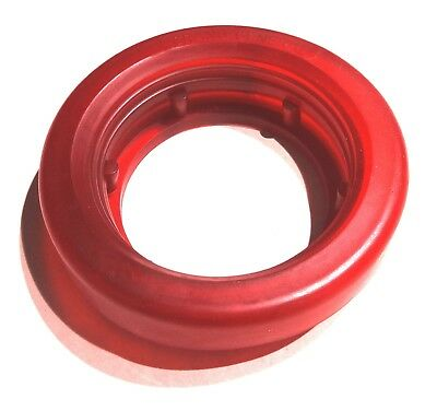 "light grommet 2"" round red colored vinyl for air cleaner lights Peterbilt Freigh"
