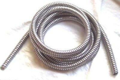 "wire loom 1/2"" I.D. 120"" long stainless steel for Peterbilt Kenworth Feightliner"