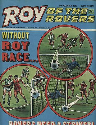 Roy of the Rovers - Comic -5 December 1987