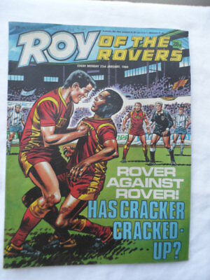 Roy of the Rovers football comic - 23 January 1988 - Birthday gift?