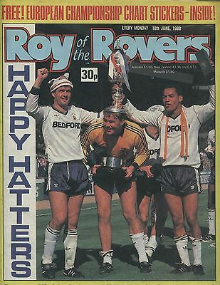 Roy of the Rovers - Comic - 18 June 1988