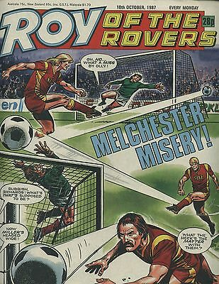 Roy of the Rovers - Comic - 10 October 1987