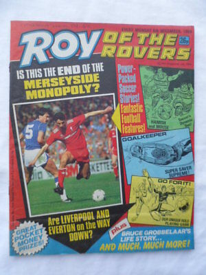 Roy of the Rovers football comic - 6th December 1986 -  Birthday gift?