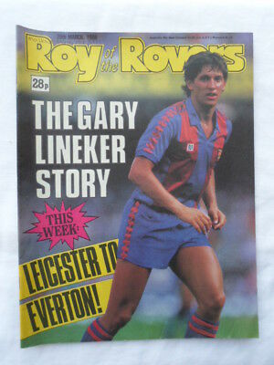 Roy of the Rovers football comic - 26 March 1988 - Birthday gift?