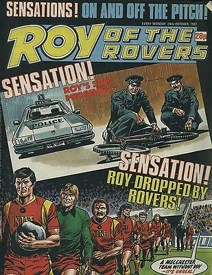 Roy of the Rovers - Comic - 24 October 1987