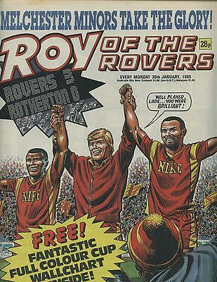 Roy of the Rovers - Comic - 30 January 1988