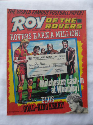 Roy of the Rovers football comic - 16 May 1987 - Birthday gift?