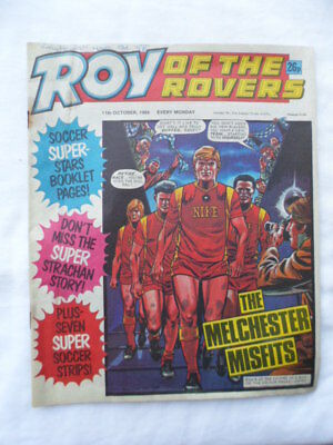 Roy of the Rovers football comic - 11 October 1986 -  Birthday gift?