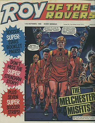 Roy of the Rovers - Comic - 11th October 1986