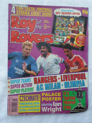 Roy of the Rovers football comic - 15 December 1990 - Birthday gift?
