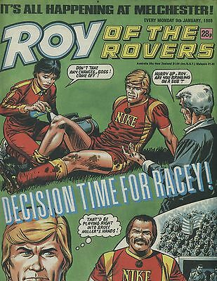 Roy of the Rovers - Comic - 9 January 1988