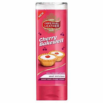 ** 2 X CUSSONS IMPERIAL LEATHER CHERRY BAKEWELL SHOWER CREAM 250ml NEW **