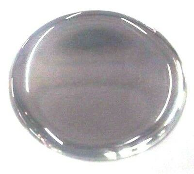 "Hub cap spinner gearshift center silver sticker round 1-5/8"" for Peterbilt KW FL"