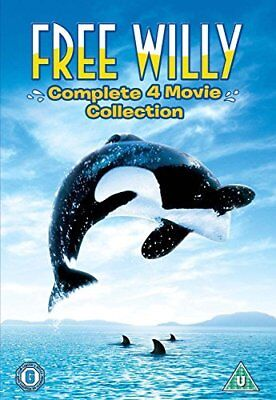 Free Willy 1-4  New (DVD  1993)