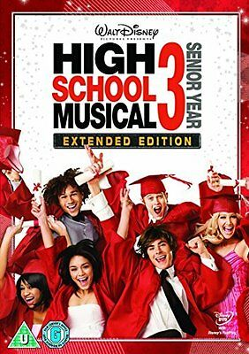 High School Musical 3: Senior Year  with Zac Efron New (DVD  2009)