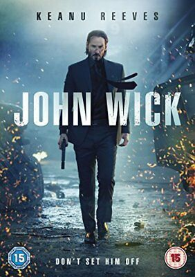 John Wick  with Keanu Reeves New (DVD  2015)