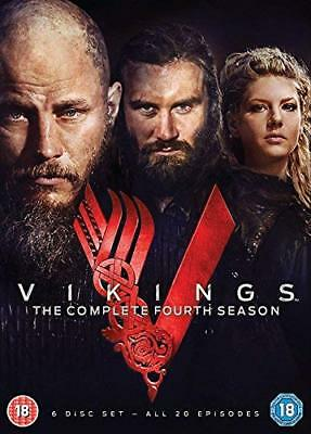 Vikings Complete Season 4  with Travis Fimmel New (DVD  2017)