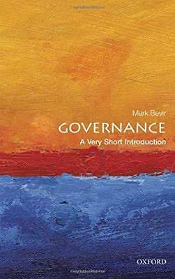Governance: A Very Short Introduction New Paperback Book