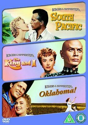 South Pacific / The King And I / Oklahoma!  with Rossano Brazzi New (DVD  2009)