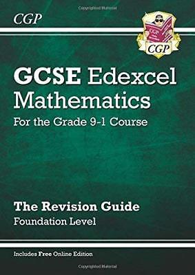 GCSE Maths Edexcel Revision Guide: Foundation -  by CGP Books New Paperback Book