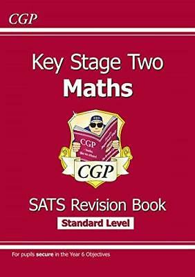 KS2 Maths Targeted SATs Revision Book - Standard by CGP Books New Paperback Book