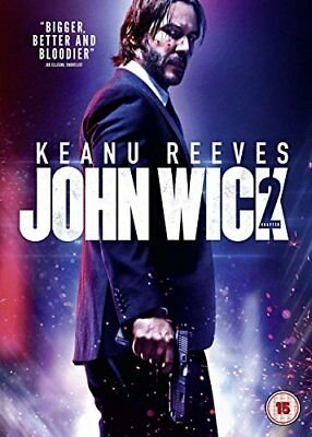 John Wick: Chapter 2 DVD + Digital Download  with Keanu Reeves New (DVD  2017)