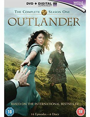 Outlander - Complete Season 1  with Caitriona Balfe New (DVD  2015)