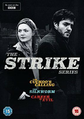 The Strike Series  with Tom Burke New (DVD  2018)