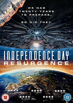 Independence Day: Resurgence  with Liam Hemsworth New (DVD  2016)