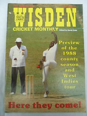 Wisden Cricket Monthly - May 1988 - Birthday gift for the cricketer