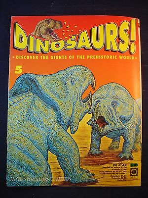 DINOSAURS MAGAZINE - ORBIS  - Play and Learn - Issue 5 - Protoceratops