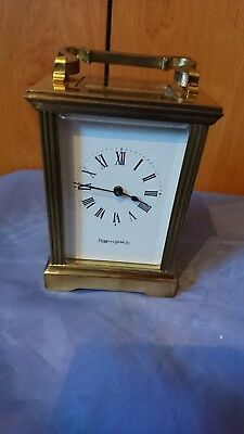 A Superb Carriage Clock By Mappin & Webb