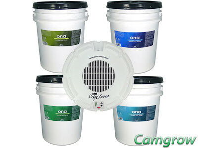 ONA - Cyclone Fan For 20 Litre Gel Tubs & ONA Odour Neutralising 2O Litre Tubs
