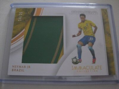 c11794f459 NEYMAR 1of25 JERSEY CARD IMMACULATE SOCCER PSG PRIZM NOIR SELECT FLAWLESS  PANINI