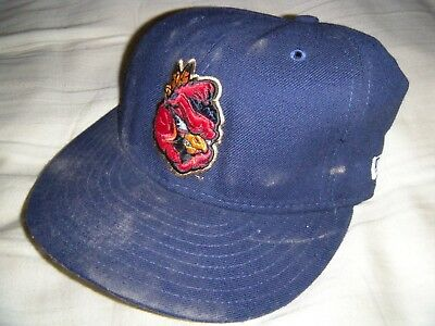 6cb82e29ad3 Peoria Chiefs Dark Blue Hat Cap Fitted Alternative New Era 7 59FIFTY  Cardinals