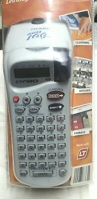 """Dymo LetraTag Electric Label Tag Maker-2 White 1/2"""" Paper Refills-Batteries-NEW!"""