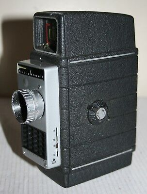 Bell & Howell Electric Eye - Standard 8mm Film Camera With Leather Case