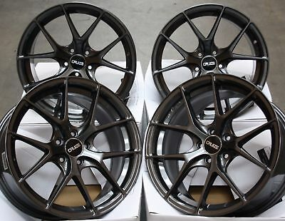 "ALLOY WHEELS X4 18"" GREY CRUIZE GTO FOR 5x112 AUDI A4 A6 A8 TT ROADSTER Q2 Q3 Q5"